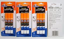 Elmer\'s Washable School Glue Pens with Precision Tips #1 Teacher Brand (3-pens Per Pack) - 4 Packs