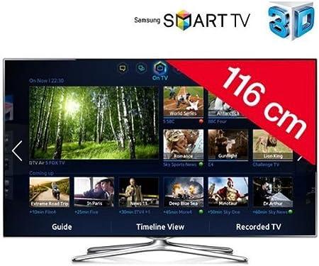 Samsung televisor LED 3d Smart TV UE46 F6500 + 2 años de garantía: Amazon.es: Electrónica