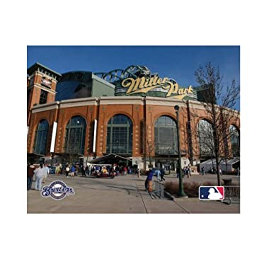 MLB Milwaukee Brewers Artissimo Miller Park 22x28 Canvas