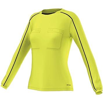 Adidas Ref16 W JSY LS Camiseta de Manga Larga, Mujer: Amazon.es: Deportes y aire libre