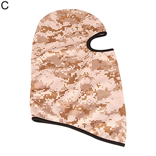 wintefei Unisex Outdoor Ski Motorcycle Cycling Camouflage Balaclava Full Face Mask Scarf C