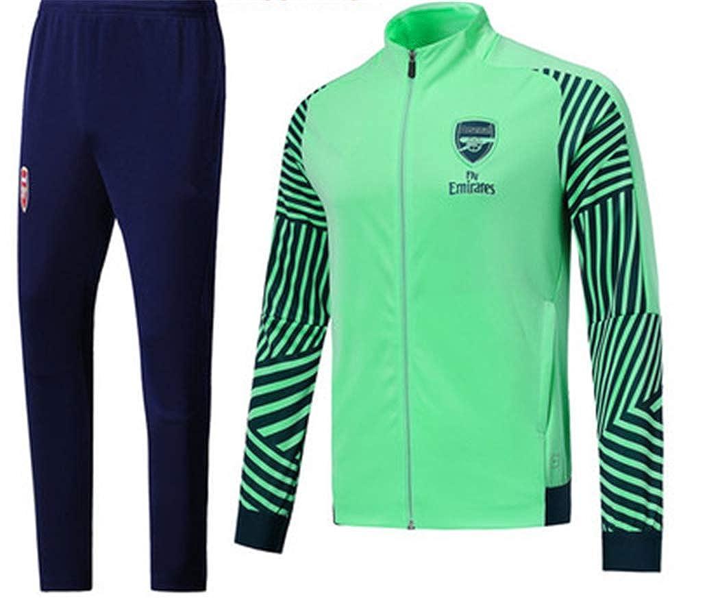 LISIMKEArsenal Club Long Sleeve Jersey Football Suit Team Play Competition Training Sweatshirt Jacket