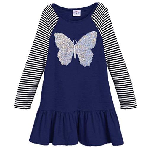 VIKITA 2018 Toddler Girls Dresses Long Sleeve Girl Dress for Kids 3-8 Years LH0380, 6T
