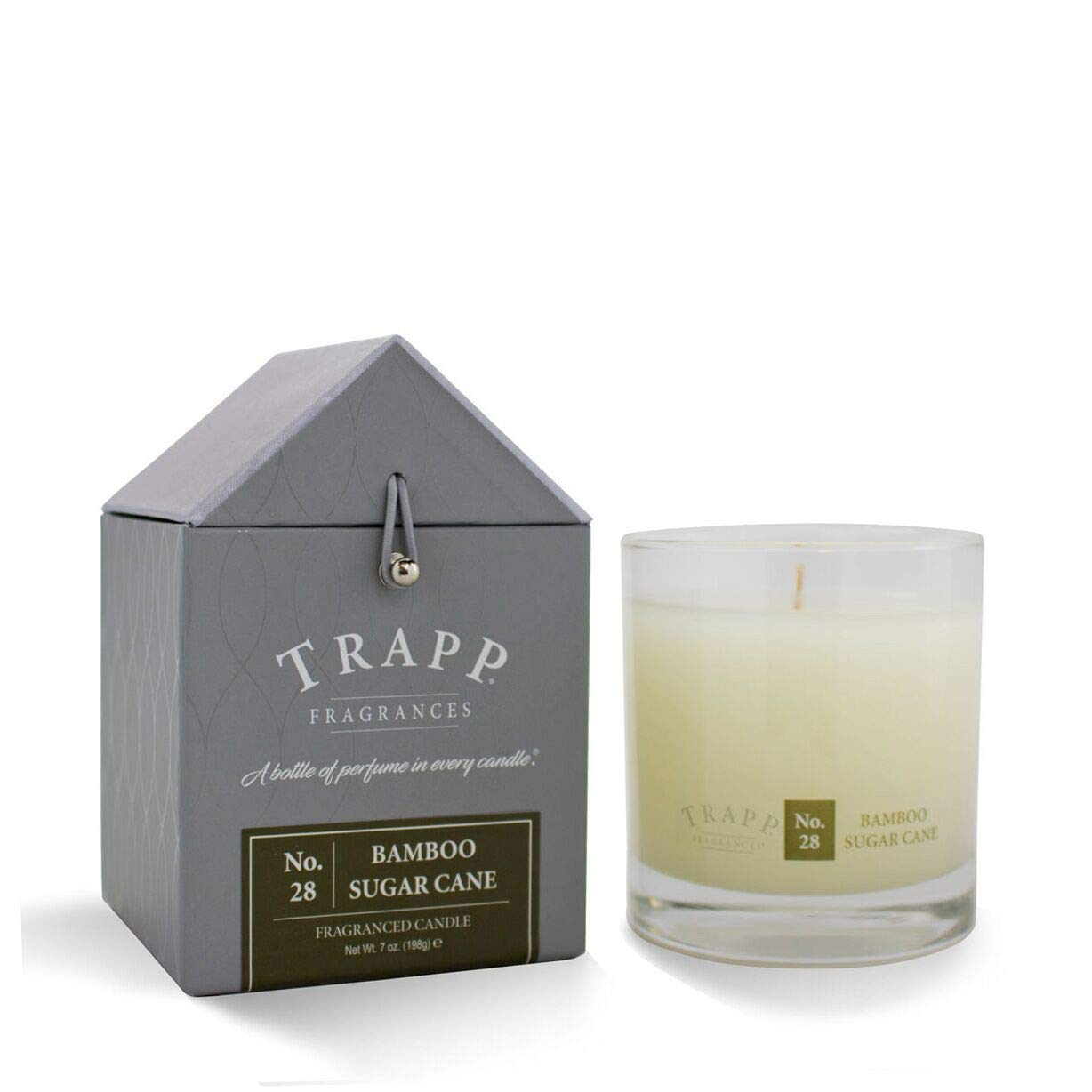 7-Ounce Trapp Signature Home Collection No 21 Amber /& Bergamot Poured Candle