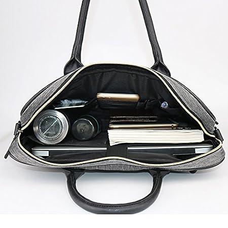 Urmiss 15 Inch Retro Vintage Laptop Messenger Bag Office Briefcase College Bag