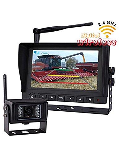 Digital Wireless Rear View Backup Camera System, 7