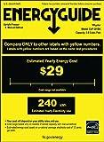 Whynter CUF-301BK 3.0 cu. ft. Energy Star Upright Freezer with Lock, Black