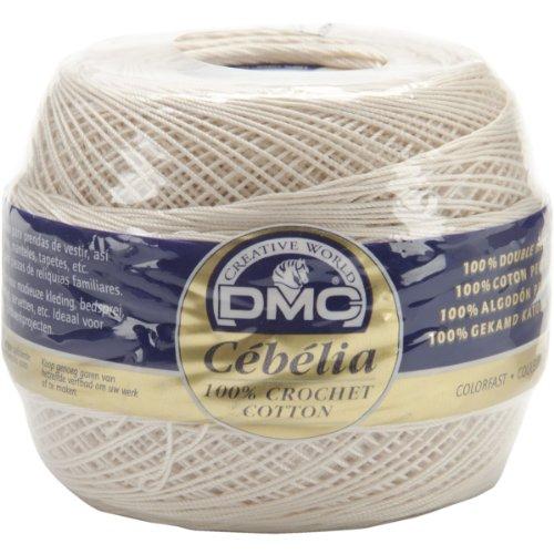 DMC 167G 20-Ecru Cebelia Crochet Cotton, Ecru,