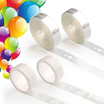 Amazon.com: Coogam - Kit de guirnalda de globos de cinta de ...