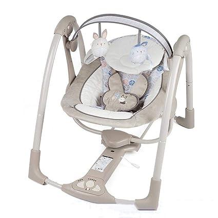 Tcaijing Hamaca de bebe Silla mecedora eléctrica de comodidad del ...