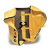 Allegro Industries 4110‐16 SCBA Deluxe Cover/Bracket, 6 3/4'' Clip, 27'' x 12'' x 12'', Yellow