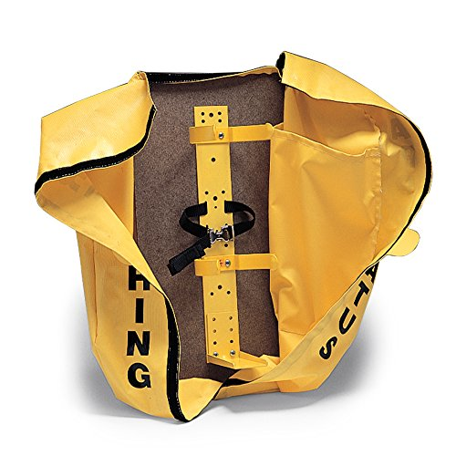 Allegro Industries 4110‐16 SCBA Deluxe Cover/Bracket, 6 3/4'' Clip, 27'' x 12'' x 12'', Yellow by Allegro Industries