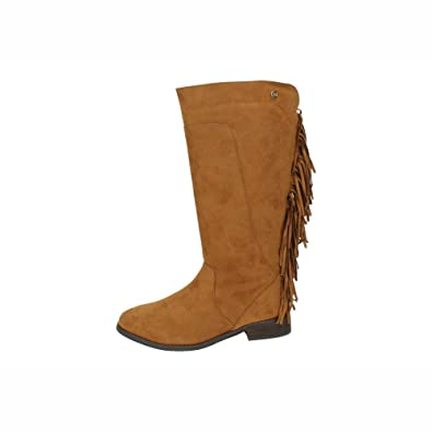 0fd73024a295dd XTI , Bottes de moto femme - marron - Camel, 37 EU: Amazon.fr: Chaussures  et Sacs