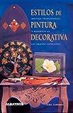 img - for Estilos de Pintura Decorativa (Spanish Edition) book / textbook / text book