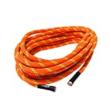 QIQU 7mm Climbing Accessory Cord Rope Cordage Line for Outdoor in 20 ft and 40 ft High Tenacity Polyester Rope