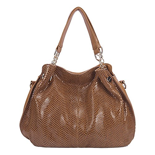 Peau Multi Serpent à brown De Pocket Sling Main Mini Cross Mode Mesdames Sac Bag Épaule wFqI00