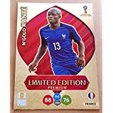 ADRENALYN XL FIFA WORLD CUP 2018 RUSSIA - N'GOLO KANTE PREMIUM LIMITED EDITION TRADING CARD - FRANCE