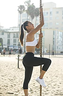 FitwearUSA Womens Certified Organic Activewear Yoga Leggings - Made in USA