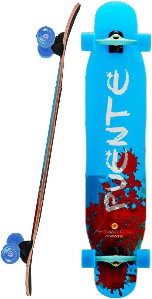 友人の贈り物 46.5インチプロのダンスロングボード全能の軽量スケートボード8層のカナダのカエデのフリースタイルスケートボードを介してドロップ(最大330ポンド) スケートボード #4