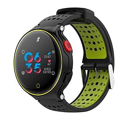 ZZY X2 Deportes Pulsera Inteligente Reloj IP68 A Prueba De Agua La Presión Arterial La Frecuencia Cardíaca De Oxígeno Monitoreo Paso Redondo Modelos Masculinos Y Femeninos by TC