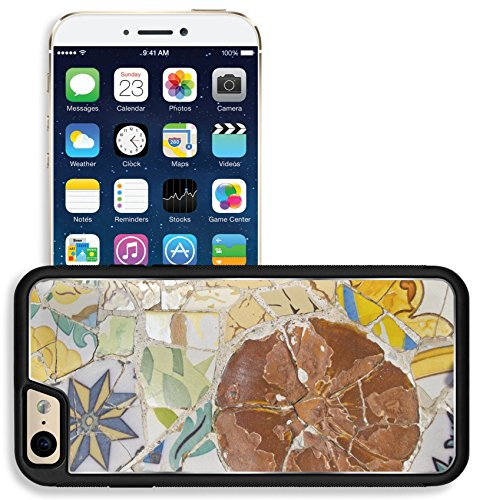 (Liili Apple iPhone 6 iPhone 6S Aluminum Backplate Bumper Snap iphone6/6s Case Mosaic of Park Guell designed by Antonio Gaudi in Barcelona 28633742)