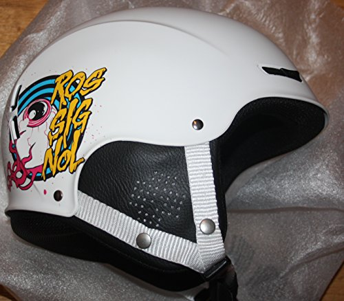 (Rossignol ski Snowboard Helmet JIB S4 White)