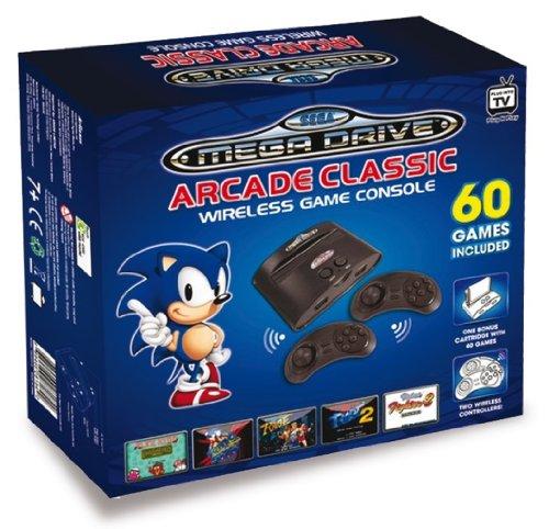 Sega Mega Drive 32X – Consola Retro Arcade Classic Inalámbrica (Incluye 60 Juegos)