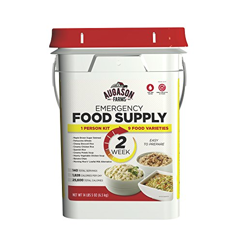 Augason Farms 2-Week 1-Person Emergency Food Supply Kit 14 lbs 5 (Two Person Meal)