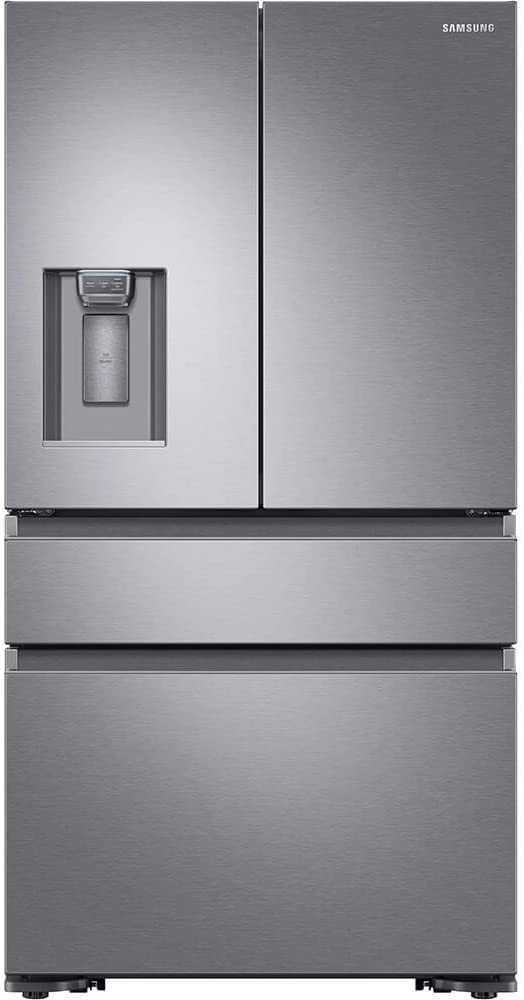 Samsung RF23M8070SR 23 cu. ft. Capacity Counter Depth 4-Door French Door Refrigerator RF23M8070SR/AA