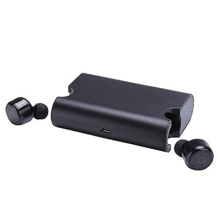 Portátil Truel X2T inalámbrico auriculares auriculares Super Mini True Auriculares inalámbrico con cargador Caja Bluetooth csr4