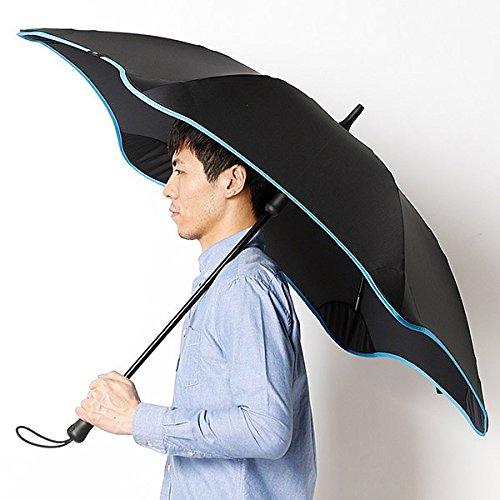 ブラント(BLUNT) 【空気力学による風に強い構造6色展開】長傘(メンズ雨傘) B072K79MXN73スカイブル 65
