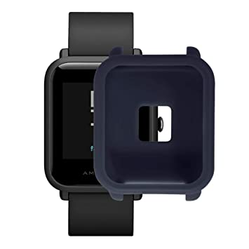 ☀️Modaworld Protector para xiaomi huami amazfit bip Youth , Fundas de Protección para xiaomi huami amazfit bip smartwatch Reloj Fundas Protector de ...