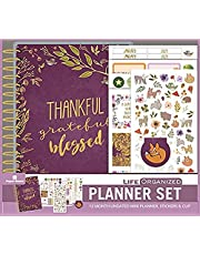 Paper House Productions Thankful 12 Month Mini Planner Set