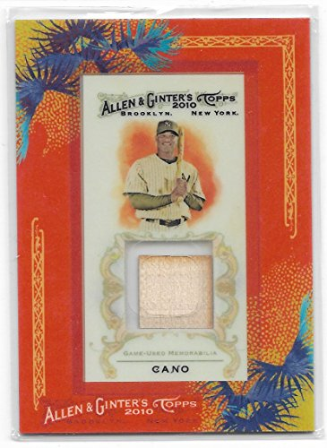 2010 Allen & Ginter's Baseball Robinson Cano Mini Framed Game Used Bat Card # - Bat Mini Mariners Baseball