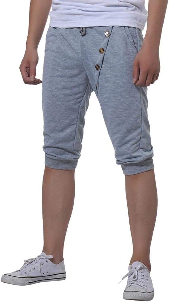 Pantalones Cortos para Hombres Gimnasio para Elástico Jogging ...