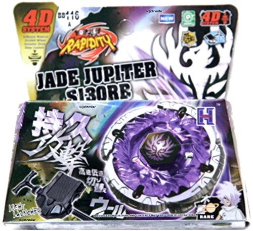 Catzaashop Jade Jupiter Metal Fusion Fight Fury Masters Beyblade Set w/ Launcher NIP