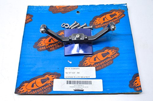 - License Plate Bracket Kit Yamaha 06-07 YZF-R6