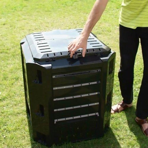 Schnellkomposter 380 Liter Kompostierer Thermokomposter
