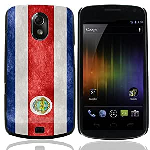 Graphic4You Vintage Costa Rican Flag of Costa Rica Design Hard Case Cover for Samsung Galaxy Nexus by lolosakes