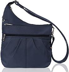 ba44923bd394 Anti-Theft cross-body gear bag for women – The Gadgeteer