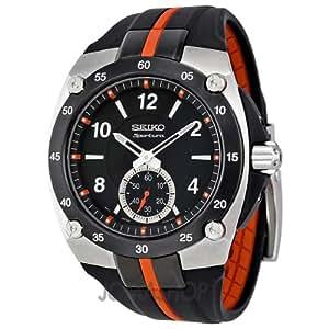Seiko SRK025P1 - Reloj para hombre, color blanco / gris