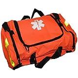Ever Ready First Aid Large EMT First Responder Trauma Bag, Orange