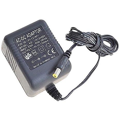 N.C. Nota: Cargador AD-1201200DV 30-123-121901 Adaptador de ...