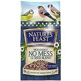 Nature's Feast High Energy No Mess 12 Seed Blend Bird Food, 5 kg
