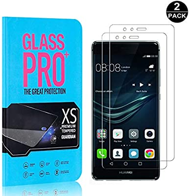 Screen Protector for Huawei P9 Bear Village Premium Tempered Glass Screen Protector 2 Pack 9H Scratch Resistant Screen Protector Film for Huawei P9
