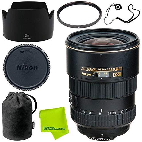 Nikon AF-S DX Zoom-NIKKOR 17-55mm f/2.8G IF-ED Advanced Bundle