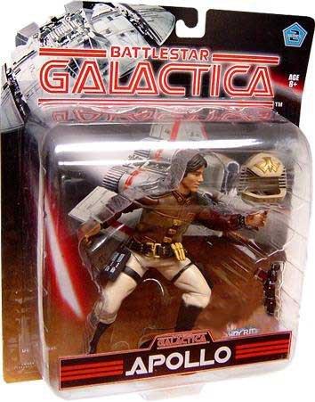 Battlestar Galactica Action Figures Series 2 Apollo (Galactica Toys Battlestar)