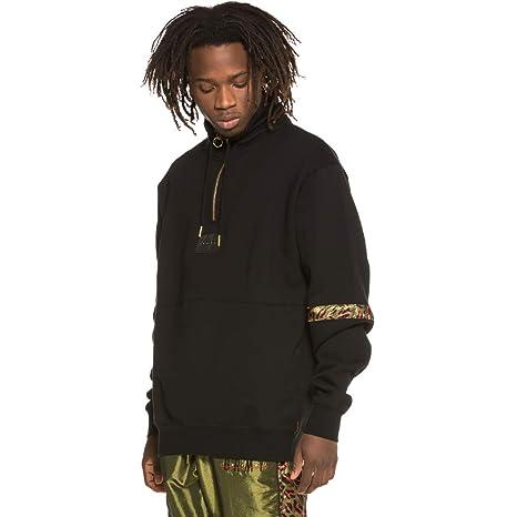 Grimey Sudadera Midnight High Neck Sweatshirt SS19 Black: Amazon.es: Ropa y accesorios