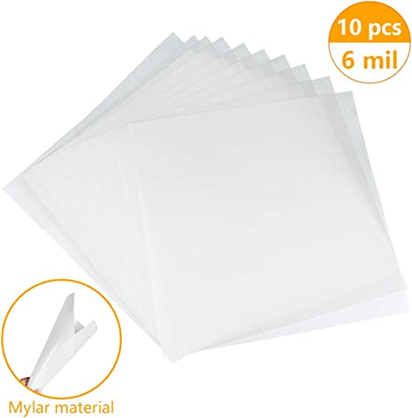 Make Your Own Stencil KOMIWOO Blank Stencil Sheets 6 Mil 12 x 240 Inch Flexible Reusable DIY Home Decor