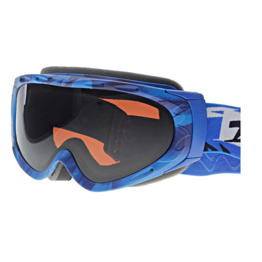 He-yanjing Snowboarding Goggle, Double Lens UV Protection Anti-Fog UV Protection Ski Snowboarding Goggles, ski Glasses (Color : A) by He-yanjing